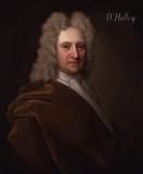 Edmond Halley por Richard Phillips antes de 1722 N...
