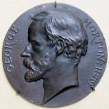 George Morton 1889 1890 de Edouard Lanteri Bronce