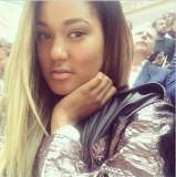 Elaina Watley NY Giants La novia de Víctor Cruz