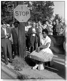 Elizabeth eckford era negra de la que formaba part...