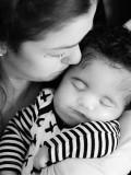 Emily con su hijo jj cortesía