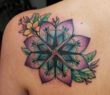 Compás mandala del tatuaje de javier franco Tatoo...
