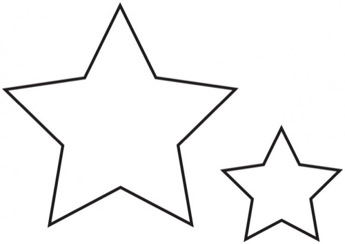 Dibujos De Estrellas Para Colorear E Imprimir: Colorear De Animales Estrellas Mar Estrella Y