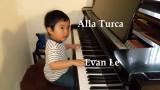 Niño prodigio pianista Evan Le Plays Alla Turca 16...