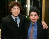 Daryl Sabara y Evan Sabara en la 5ta Tribeca anual