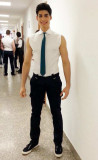 Fabio Marra Modelo de portada Di Mens para la salu...