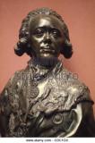 Tsar Paul I de Rusia busto de retrato de Fedot Shu...