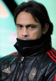 Filippo Inzaghi Filippo Inzaghi del AC Milan duran...