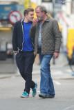 Jeremy Clarkson y su hijo Finlo dejeunent au E O r...