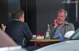 Jeremy Clarkson y sus hijos Finlo Notting Hill Lon...
