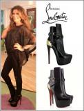 Florencia de la V y las botas Esquetria de 16cm un...