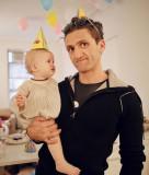 Casey Neistat y su hija Francine HAPPY BIRTHDAY