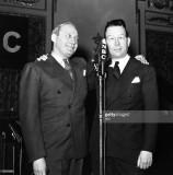 Fred Allen Jack Benny en 1937 durante su feuding f...