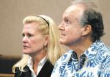 Lydia Hemmings y su marido el estado Sen Fred Hemm...