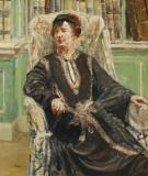 BBC Sus pinturas Dame Freya Stark 1893 1993 Sentad...