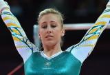 Australia gimnasta Georgia Bonora en bares desigua...