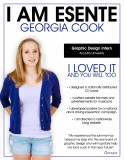 Georgia cook diseño gráfico intern