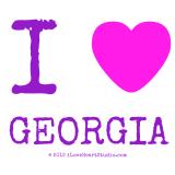Title i love heart georgia texto i georgia creator...