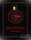 Georgia Feliz Navidad Posters por