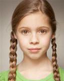 11 años de edad Georgia Pemberton de Londres repre...