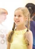 Georgia Pemberton en los ensayos de Matilda the Mu...