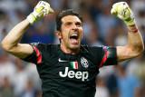 Gianluigi Buffon el mes pasado después de que la J...