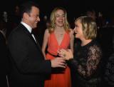 Gina Kimmel LR Jimmy Kimmel Gina Kimmel y Amy Poeh...