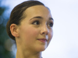 Bailarina Gisele Bethea en el Master Ballet Studio...