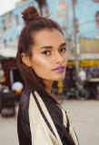 Pelo y maquillaje Monica Gingold modelo Gizele Oli...