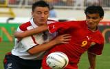 Gjorgji Hristov R jugando para Macedonia