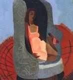 Una exposición de pinturas y grabados de Gwendolyn...