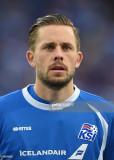 Gylfi Sigurdsson, de Islandia, durante la UEFA EUR...