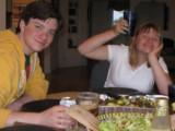 Chris y Hannah Colfer Tratar con