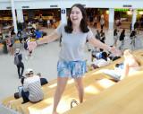 Hannah Geller estudiante de segundo año y video po...