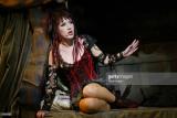Actriz británica Hannah Jane Fox y realiza en el e...