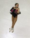 Hannah Miller compite en el Ladies Short