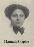 El 22 de septiembre de 1910 Hannah Shapiro y otras...