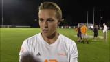 UT Soccer Hannah Wilkinson Posesión