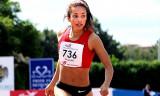 Hannah Williams corriendo hacia