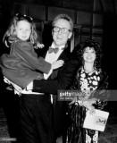 Actor Harry esposa Leslie Pollack y su hija Eva