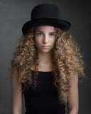 Hattie Gotobed modelo de actriz infantil británi...
