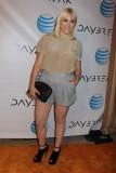 Hayley Hasselhoff en el estreno de la serie del We...