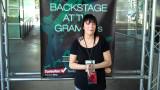 Heather B Entre bastidores en el GRAMMYs Day