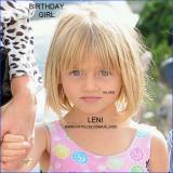 Feliz Cumpleaños Leni Samuel por HELENE LENI BOSHO...