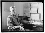 Hiram Bingham en su escritorio