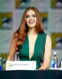Holland Roden En Teen Wolf Presentación En ComicCo...