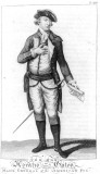 Horatio Gates como general mayor en las Fuerzas Am...