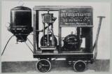 Hubert Cecil Booth y fabricado en Gloucester por F...