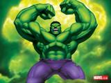 El casco popularmente conocido como el hulk increí...