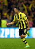Ilkay Gundogan del Borussia Dortmund celebra